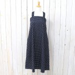 ENGINEERED GARMENTS『Cross Back Dress-Big Polka Dot Broadcloth』