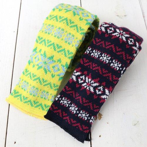 『Knit Tie-Fairisle』
