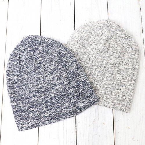 『Long Beanie-Heather Sweater Knit』