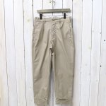 ENGINEERED GARMENTS『Andover Pant-High Count Twill』(Khaki)