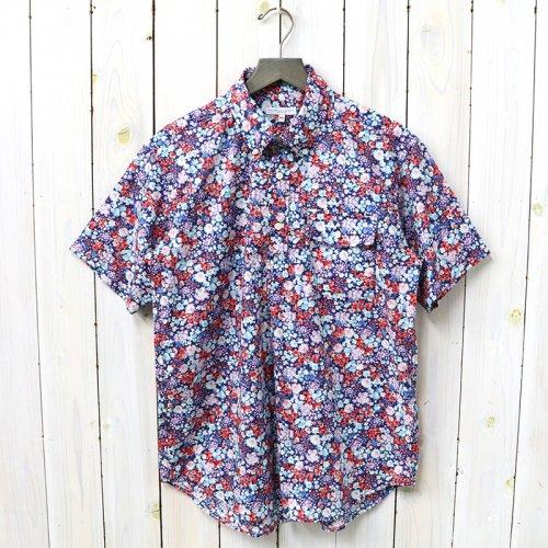 『Pop Over BD Shirt-Floral Lawn』