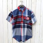 ENGINEERED GARMENTS『Pop Over BD Shirt-Big Madras Plaid』(Navy/Red)