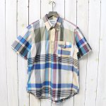 ENGINEERED GARMENTS『Pop Over BD Shirt-Big Madras Plaid』(Khaki)