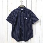 ENGINEERED GARMENTS『Pop Over BD Shirt-Regimental St.』(Navy/Black)