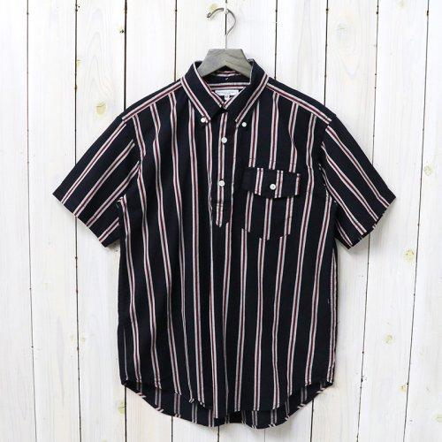 『Pop Over BD Shirt-Regimental St.』(Navy/Red/White)