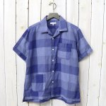 ENGINEERED GARMENTS『Camp Shirt-Block Check CL Lawn』(Blue)