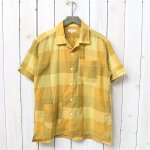 ENGINEERED GARMENTS『Camp Shirt-Block Check CL Lawn』(Gold)