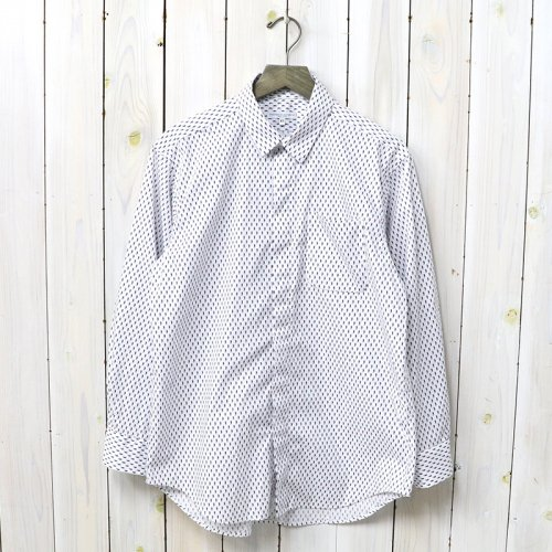 『Short Collar Shirt-Seahorse Print』