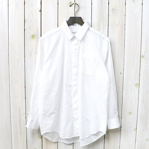 『Short Collar Shirt-Tone&Tone Dobby St.』(White)