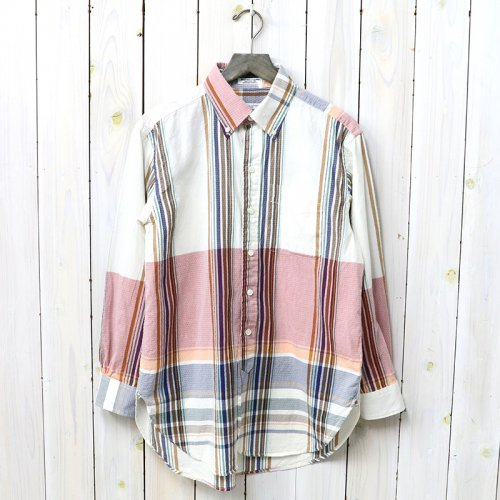 【会員様限定SALE】ENGINEERED GARMENTS『19th BD Shirt-Long Repeat Plaid Dobby』