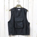 ENGINEERED GARMENTS『Cover Vest-Nylon Micro Ripstop』(Black)