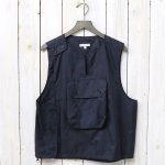 ENGINEERED GARMENTS『Cover Vest-Nylon Micro Ripstop』(Dk.Navy)