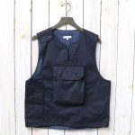 ENGINEERED GARMENTS『Cover Vest-High Count Twill』(Dk.Navy)