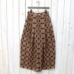Needles『Balloon Pant-Cupra Sateen』(Brown)