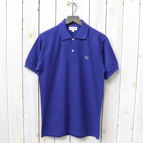 『ポロシャツ(杢・半袖)』(ロイヤルブルー)