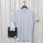 Brooks Brothers『スーピマコットン 3パック クルーネックTシャツ Traditional Fit』(Solid Grey)