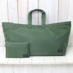 Kaptain Sunshine『Mrache Tote Made by PORTER』(Airforce Green)