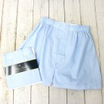 Brooks Brothers『ブロード ボクサーショーツ Traditional Fit』(L Blue Grnd Hairline Stripe)
