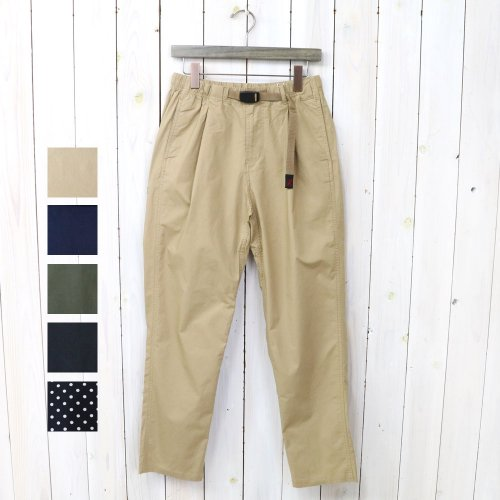 【SALE特価50%off】GRAMICCI『WEATHER TUCK TAPERED PANTS』