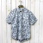 ENGINEERED GARMENTS『Pop Over BD Shirt-Floral Printed Lawn』(Navy/White)