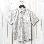 ENGINEERED GARMENTS『Pop Over BD Shirt-Floral Printed Lawn』(Beige/White)