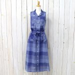 ENGINEERED GARMENTS『Classic Dress-Block Check CL Lawn』(Blue)