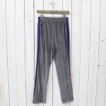 Needles『Narrow Track Pant-C/Pe Velour』(Grey)