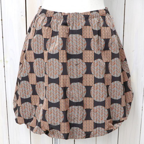 【会員様限定SALE】Needles『Warm-up Balloon Skirt-Poly Taffeta』(Brown)