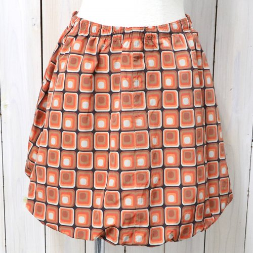 【会員様限定SALE】Needles『Warm-up Balloon Skirt-Poly Taffeta』(Orange)