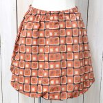 Needles『Warm-up Balloon Skirt-Poly Taffeta』(Orange)