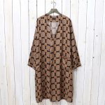 Needles『V Neck Robe-Cupra Sateen』(Brown)