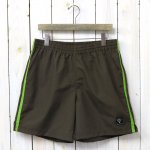 SOUTH2 WEST8『Side Slit Trail Short-Nylon Tussore』(Brown)
