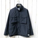 SASSAFRAS『DIGS CREW JACKET(NYLON)』(CHARCOAL)