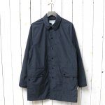 SASSAFRAS『FALL LEAF COAT(NYLON)』(CHARCOAL)