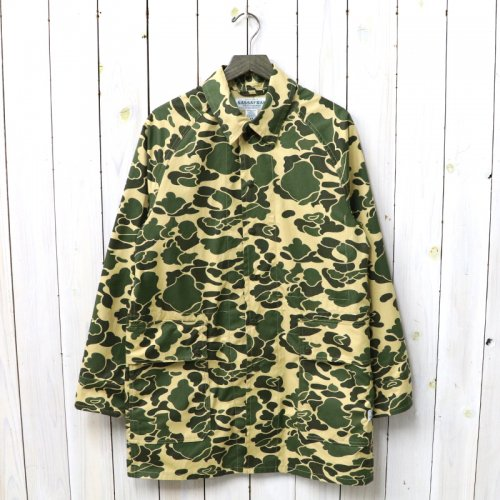 『FALL LEAF COAT(WEEDS POPLIN)』(D.H.CAMO)
