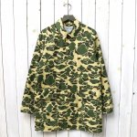 SASSAFRAS『FALL LEAF COAT(WEEDS POPLIN)』(D.H.CAMO)
