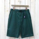 THE NORTH FACE PURPLE LABEL『Stretch Twill Shorts』(Kelly Green)