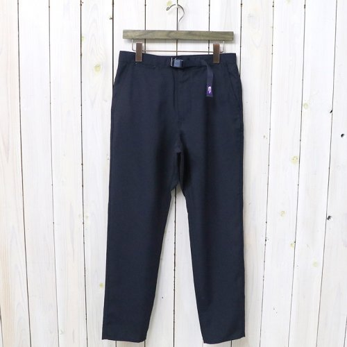 THE NORTH FACE PURPLE LABEL『Polyester Tropical Field Pants』(Navy)
