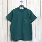 THE NORTH FACE PURPLE LABEL『7oz H/S Pocket Tee』(Green)