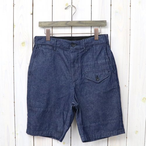『Ghurka Short/Solid-8oz Denim』