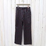 Needles『String Arrow Easy Pant-R/C Sateen』(Navy)