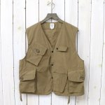 SOUTH2 WEST8『Tenkara Vest-Wax Coating』(Tan)