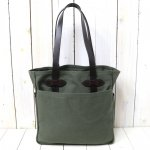 FILSON『TOTE BAG WITHOUT ZIPPER』(OTTER GREEN)