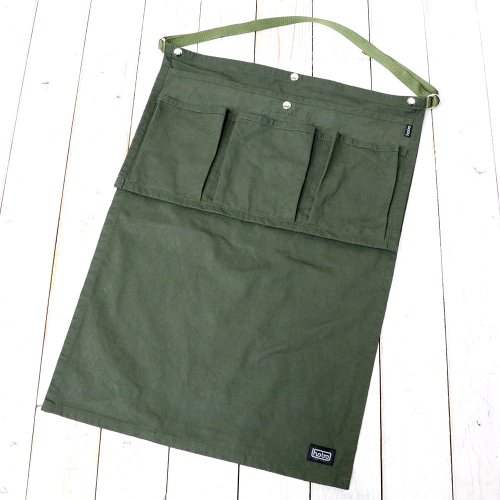 hobo『Cotton Twill Gardener Apron by LAND & B.C.』(Olive)