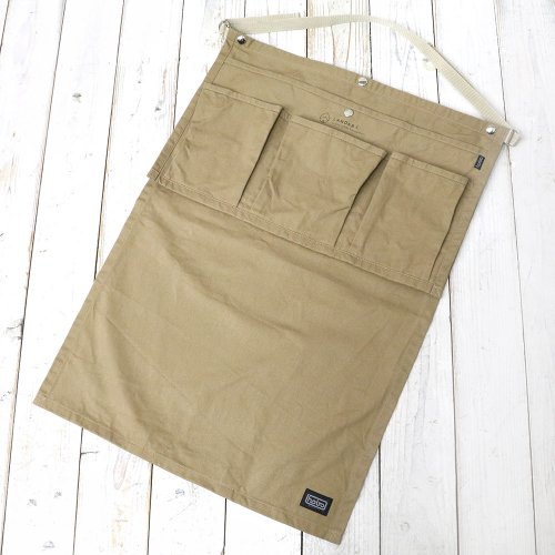 hobo『Cotton Twill Gardener Apron by LAND & B.C.』(Beige)
