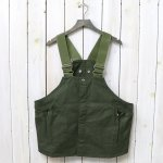 hobo『Cotton Twill Gardener Vest by LAND & B.C.』(Olive)