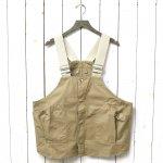 hobo『Cotton Twill Gardener Vest by LAND & B.C.』(Beige)