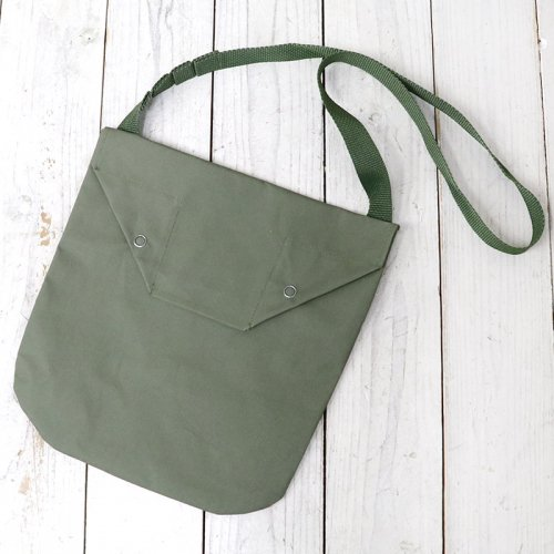 『Shoulder Pouch-Acrylic Coated Cotton』