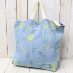 ENGINEERED GARMENTS『Carry All Tote-Denim Floral Embroidery』