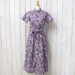 ENGINEERED GARMENTS『BD Shirt Dress-Floral Lawn』